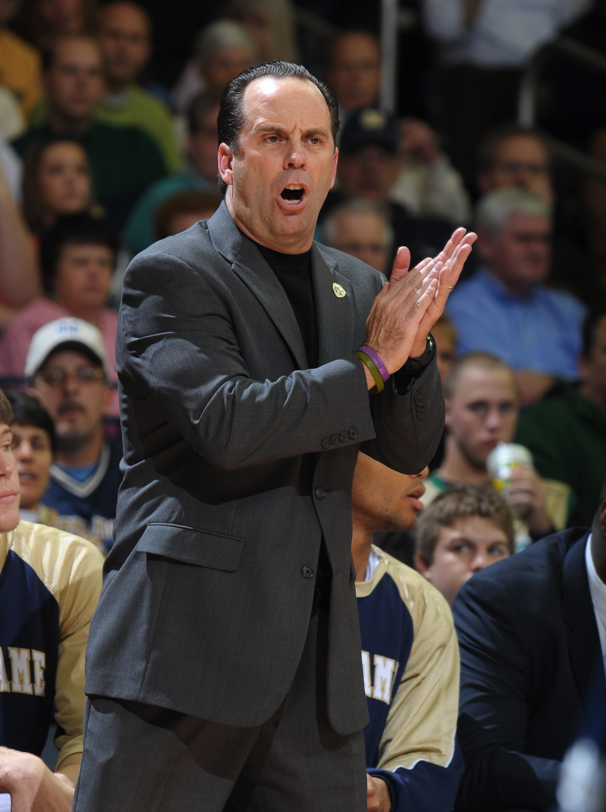 GOLF CY13 South Bend Coach Brey Sideline